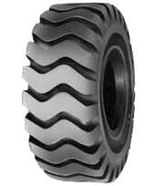 Akuret E-3 Rock Loader Tires